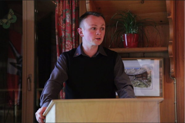Zuletzt amtete Adrian Segessenmann als Vorsteher der PNOS Emmental und zugleich als Vizevorsitzender der PNOS Schweiz.