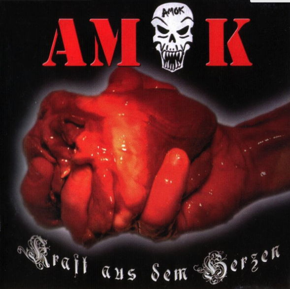 Nebst drei Indiziert-CD's produzierte HRD-Records auch die Scheibe «Kraft aus dem Herzen» für Amok.