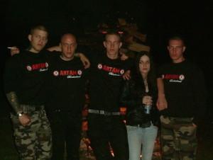 Mitglieder der mittlerweile aufgelösten Artam Brotherhood in Genf