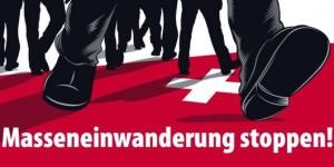 Mit einer landesweiten Plakatkampagne gegen die vermeintliche «Masseneinwanderung» schürte die SVP auch dieses Jahr wieder geschickt fremdenfeindliche Ängste.
