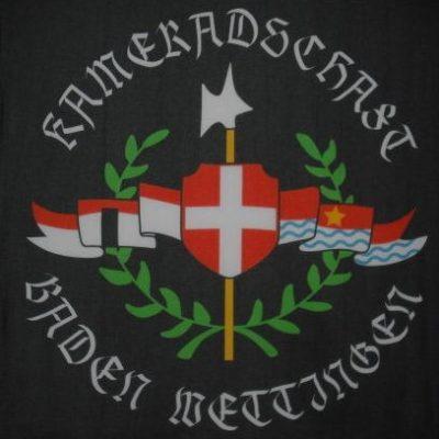 Fahne der Kameradschaft Baden Wettingen