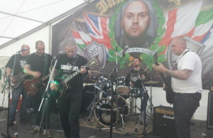 Die deutsche Band Sleipnir am ISD-Memorial 2013 in England