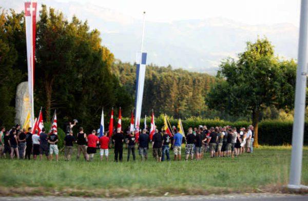 Rede beim Schlachtdenkmal in Sempach 2015.