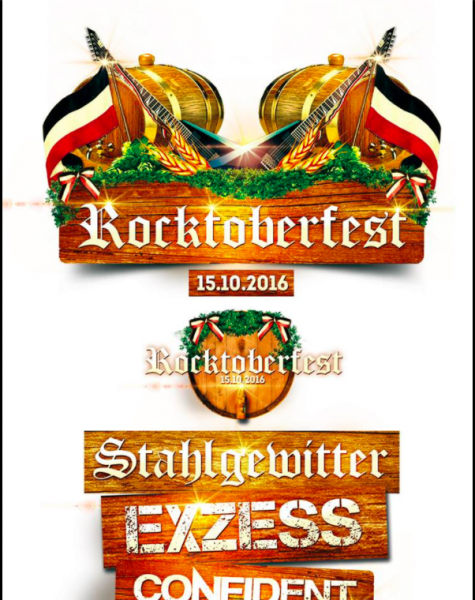 Merchandise-Artikel des Rocktoberfestes