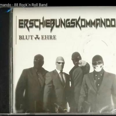 """CD-Cover der Scheibe """"Blut und Ehre"""" von Erschiessungskommando"""