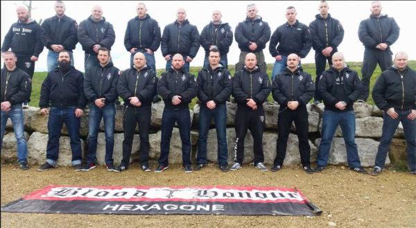 Gruppenfoto der B&H Sektion Hexagone aus Frankreich