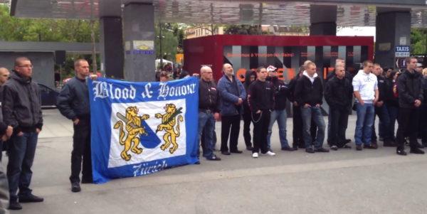 B&H Sektion Zürich an einer Gedenkveranstaltung in Yverdon 2013
