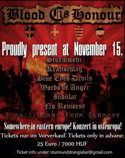 B&H/C18 Konzert mit internationaler Beteiligung zur Sektionsgründung in Ungarn