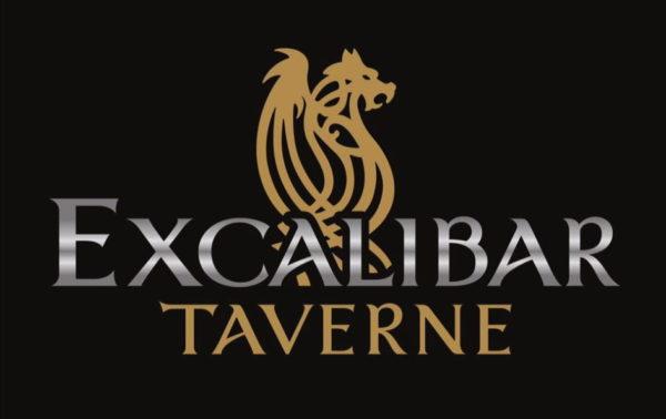 Logo der Excalibar Taverne in Bossonens FR