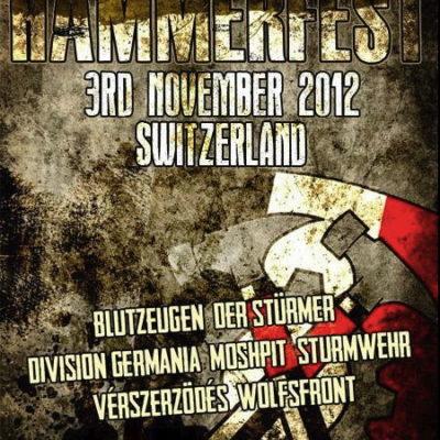 Das Hammerfest 2012 wurde ursprünglich in der Schweiz angekündigt – bevor die Organisator_innen den Veranstaltungsort nach Toul (F) verlegten.