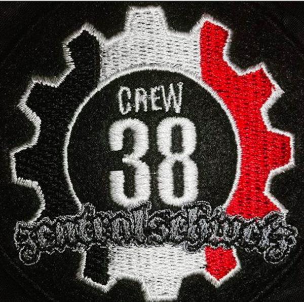 Patch der Crew38 Zentralschweiz