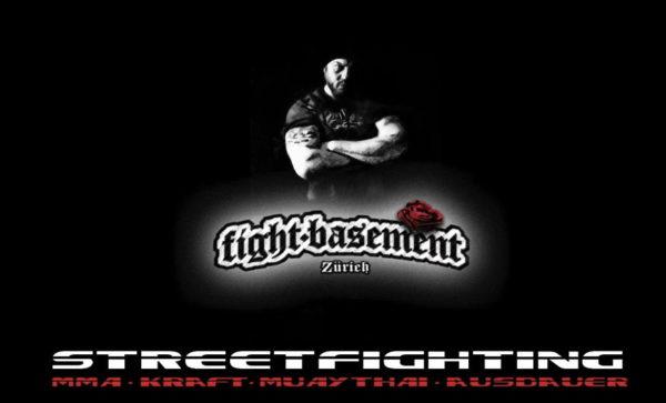 Das Logo des Fight-Basement Zürich