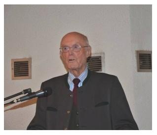 Vortrag des ehemaligen Waffen-SS Funktionärs Kurt Barckhausen