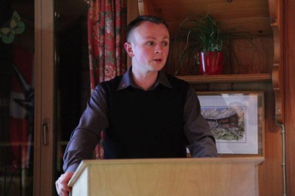 Der Betreiber Adrian Segessenmann versuchte gerne, seine Belesenheit in offiziellen Auftritten zum Ausdruck zu bringen.
