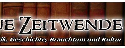 Webseitenbanner des ehemaligen Buchversandes Neue Zeitwende