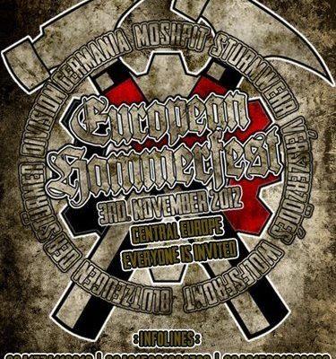 Der Flyer für das Hammerfest 2012 kursierte seit längerer Zeit in der Szene.