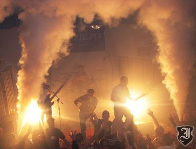14.1.2012: 10-Jahre-Jubiläusmkonzert der Rechtsrock-Band Indiziert in Utzenstorf BE