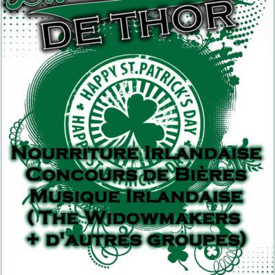 Flyer zum offiziell letzten Anlass in der Taverne de Thor in Toul.