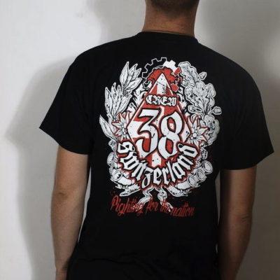 Rückenansicht des Schweizer Crew 38 T-Shirts