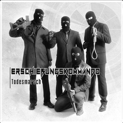 Cover der ersten CD von Erschiessungskommando aus dem Jahr 2013
