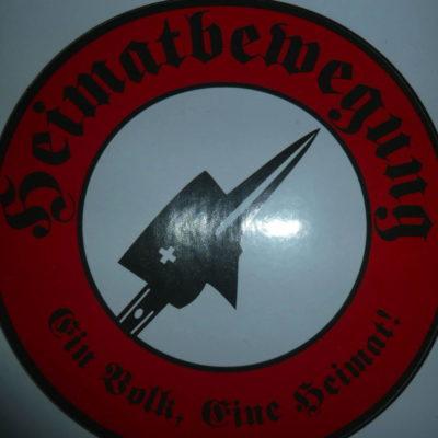 Logo der völkischen Heimatbewegung mit Sitz in Dübendorf.
