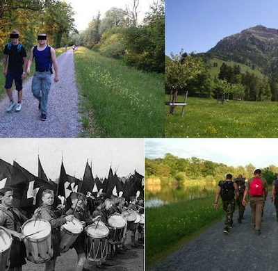 Die Kameradschaft Heimattreu fühlt sich am Rigimarsch an die Hitlerjugend erinnert.
