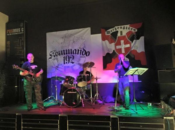 2015 organisierte die Kameradschaft Morgenstern ein Konzert mit Kommando 192 in Ruswil