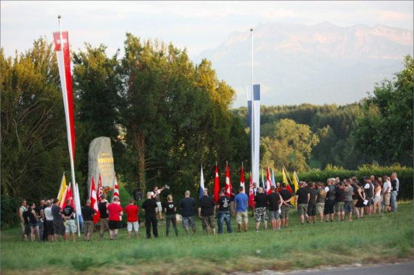 Die lokale Kameradschaft Morgenstern hilft jeweils tatkräftig mit, den Aufmarsch in Sempach zu organisieren.