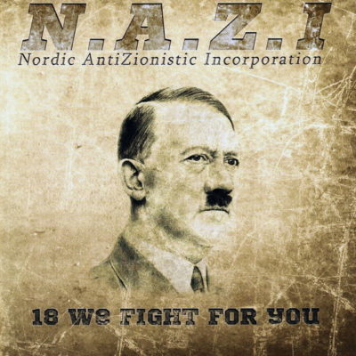 "Cover der CD ""18 we fight for you"""