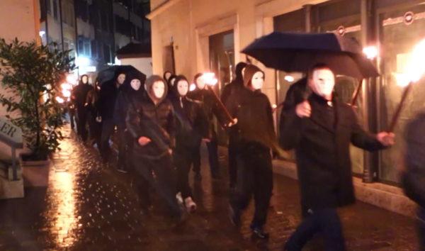 ...und an der Organisation der Neonazidemo im Stil der Unsterblichen durch Solothurn im Februar 2014.