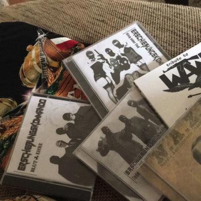 CDs von Erschiessungskommando waren am Rocktoberfest erhältlich