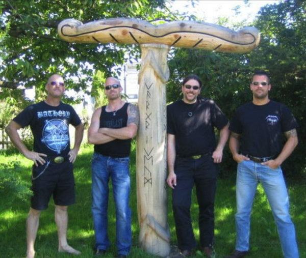Die ursprüngliche Besetzung der Band.