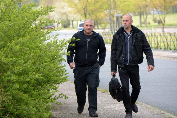 Auch Jürgs Namensvetter Peter Steiner (l.) durfte im B&H-Fanclub nicht fehlen.
